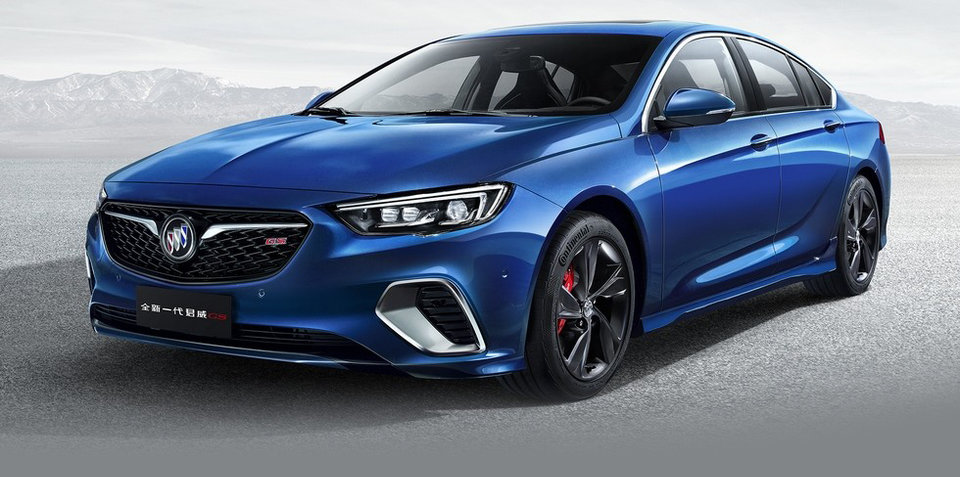2018 Holden Commodore SS/VXR unveiled in Buick form - UPDATE