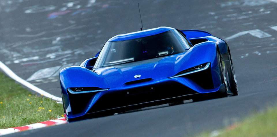 Nio EP9: Electric supercar sets new Nurburgring road-legal car record