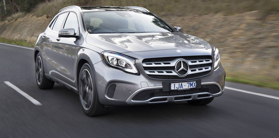 2017 mercedes benz gla pricing and specs. Black Bedroom Furniture Sets. Home Design Ideas