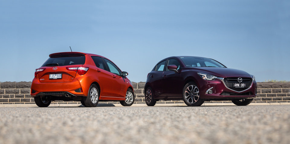 Toyota Yaris v Mazda 2 comparison