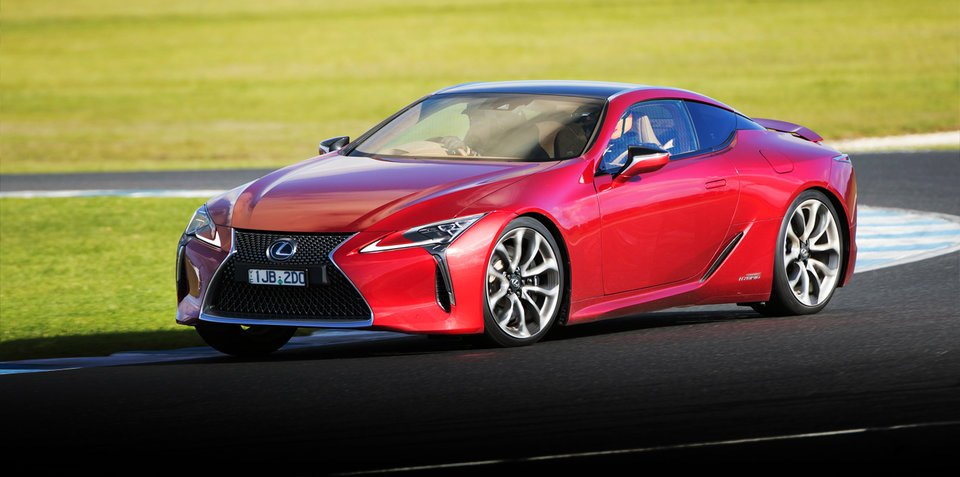 2017 Lexus LC500 review