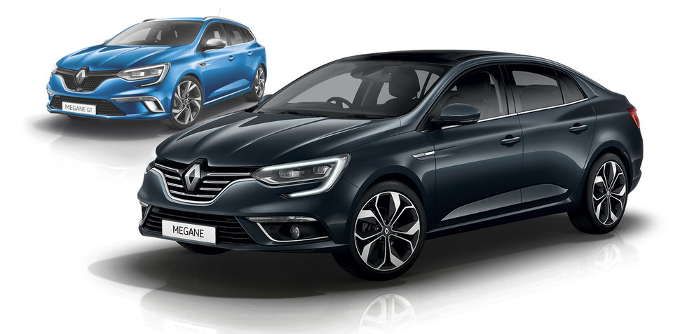 2017 renault megane sedan and wagon pricing and specs. Black Bedroom Furniture Sets. Home Design Ideas