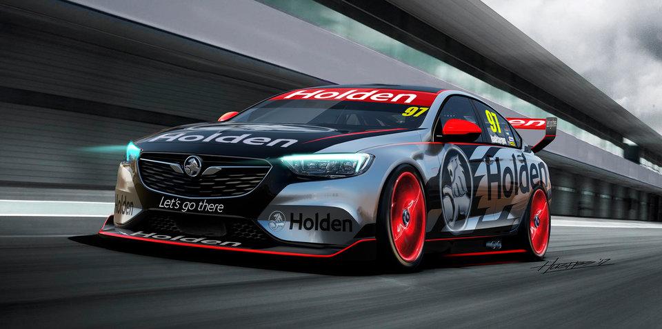 2018 Holden Commodore racer revealed for Australian Supercars Championship