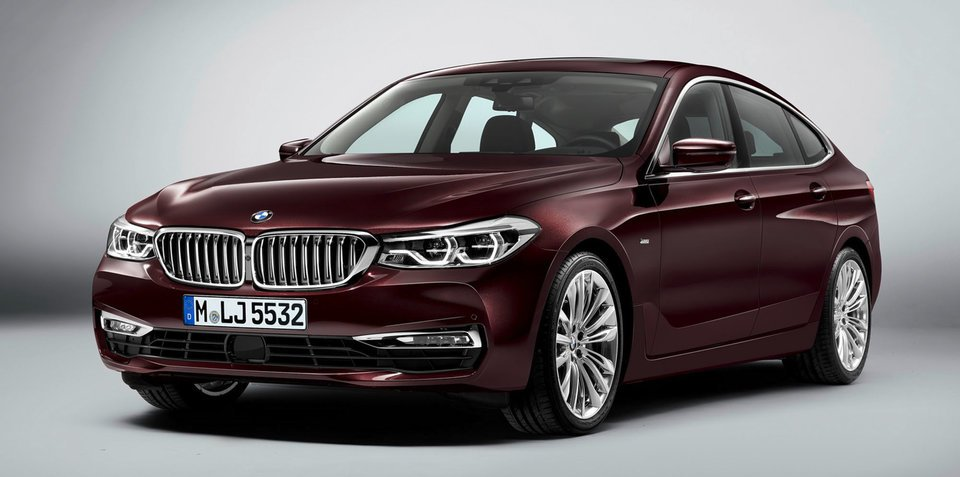 2018 BMW 6 Series GT official photos leaked