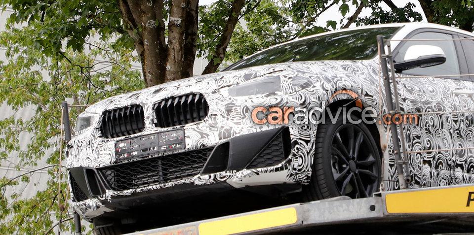 2018 BMW X2 front bumper design spied