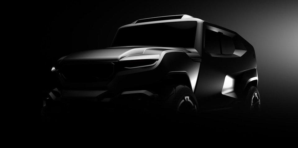 Rezvani 'military inspired' SUV teased
