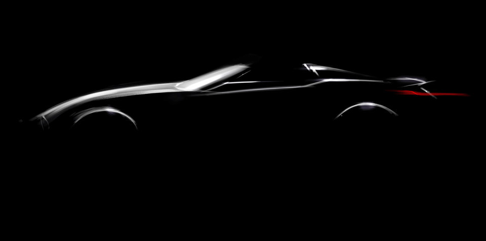 BMW sketches new roadster for Pebble Beach Concours