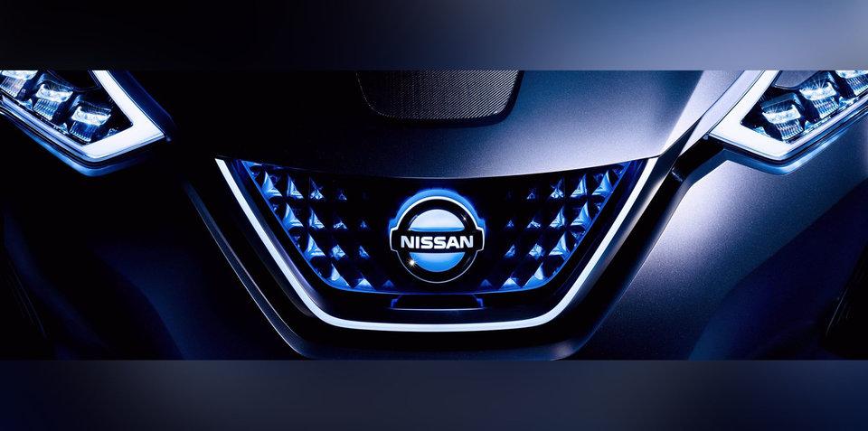 2018 Nissan Leaf grille teased ahead of September unveiling