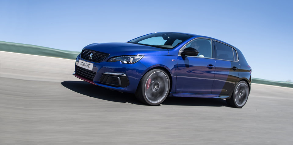 2018 Peugeot 308 GTi 270 review - track test