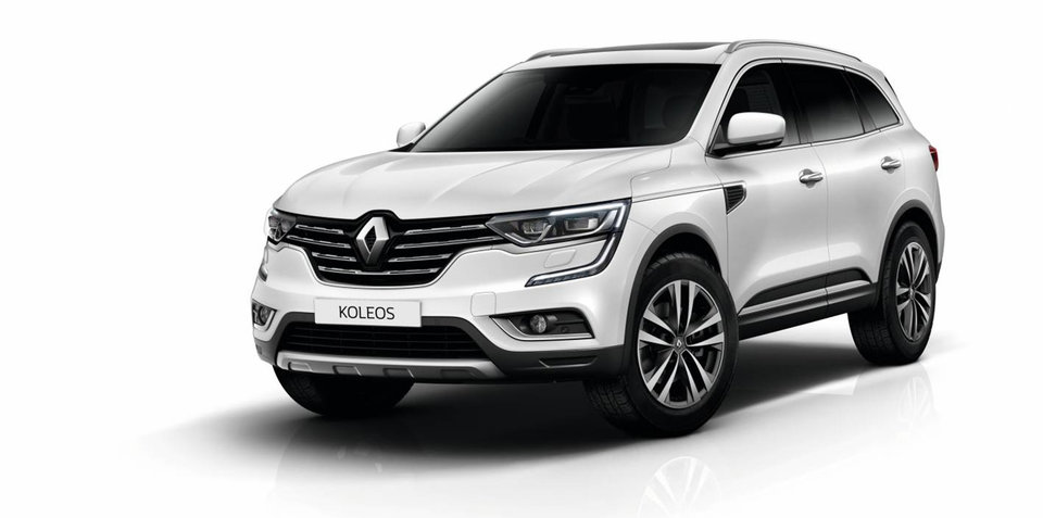 Renault Koleos Diesel priced from $46,990, here in September