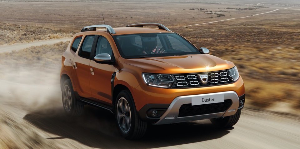 2018 Dacia Duster revealed, moving upmarket