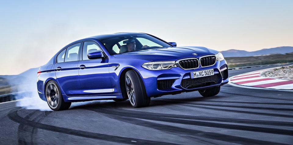 Evolution of the BMW M5