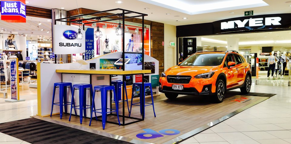 Subaru doubles-down on shopping centre presence
