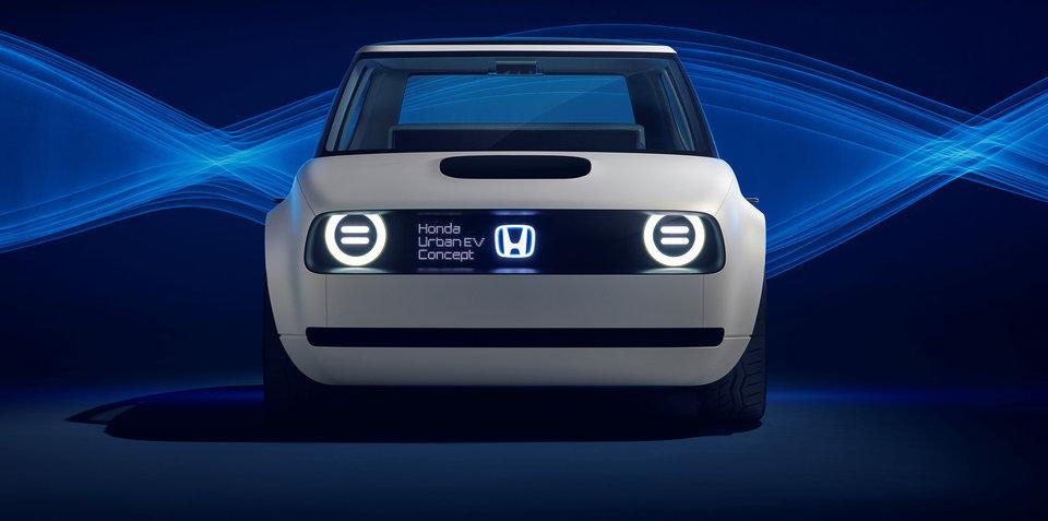 Honda Urban EV order books open in 'early 2019'