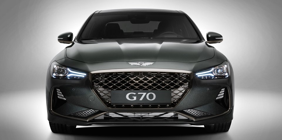 2018 genesis g70 australian details. Black Bedroom Furniture Sets. Home Design Ideas