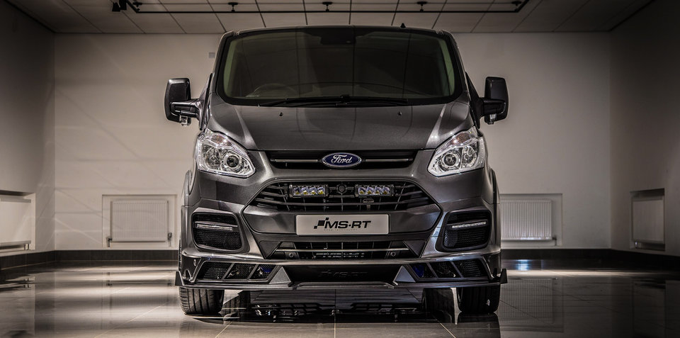 Ford Transit gets M-Sport World Rally Car treatment… and it's awesome