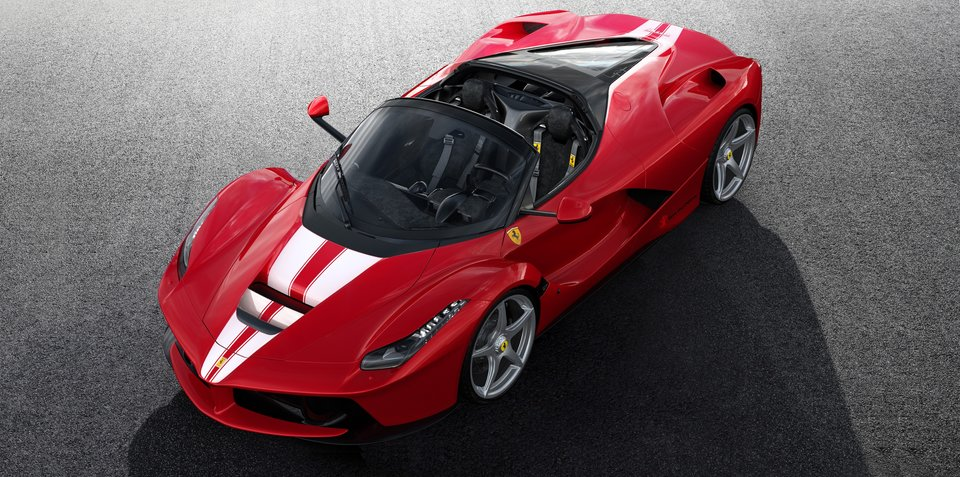Ferrari LaFerrari Aperta To Go Under The Hammer For The Children