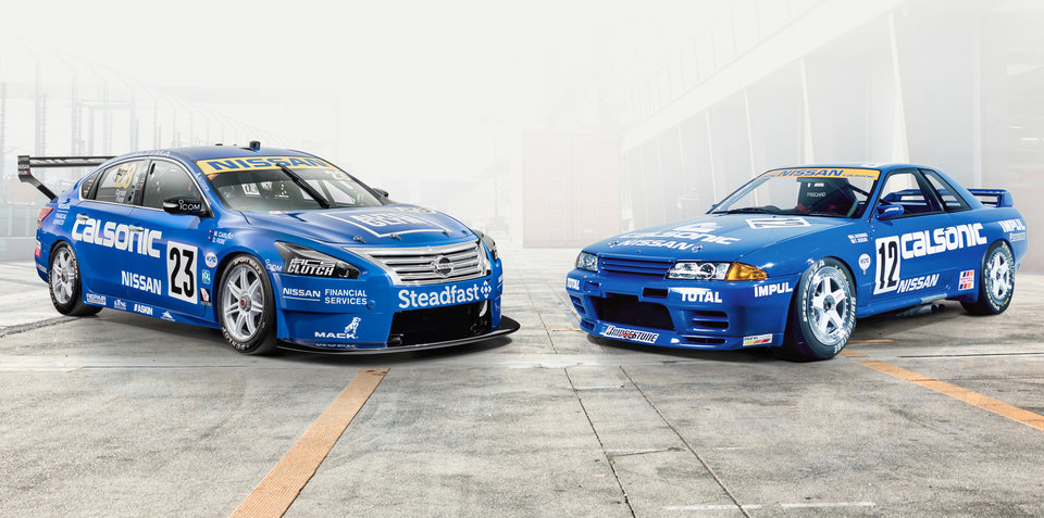 Nissan goes old-school cool for Supercars 'Retro Round'