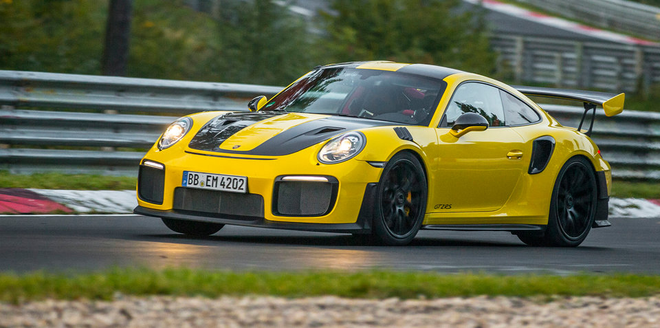 Porsche 911 GT2 RS sets Nürburgring lap record