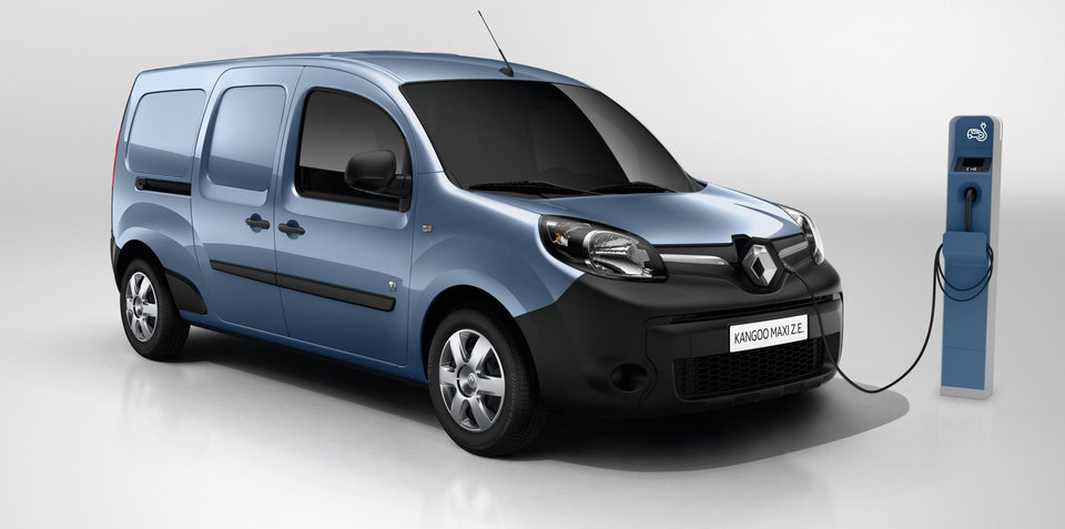 Renault Kangoo ZE: Electric van priced from $52,527 for private buyers