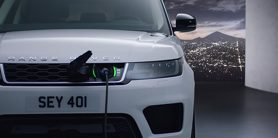 2018 Range Rover Sport revealed, here in April with PHEV option