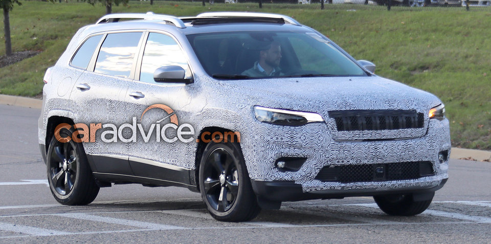 2018 Jeep Cherokee to gain turbo petrol engine
