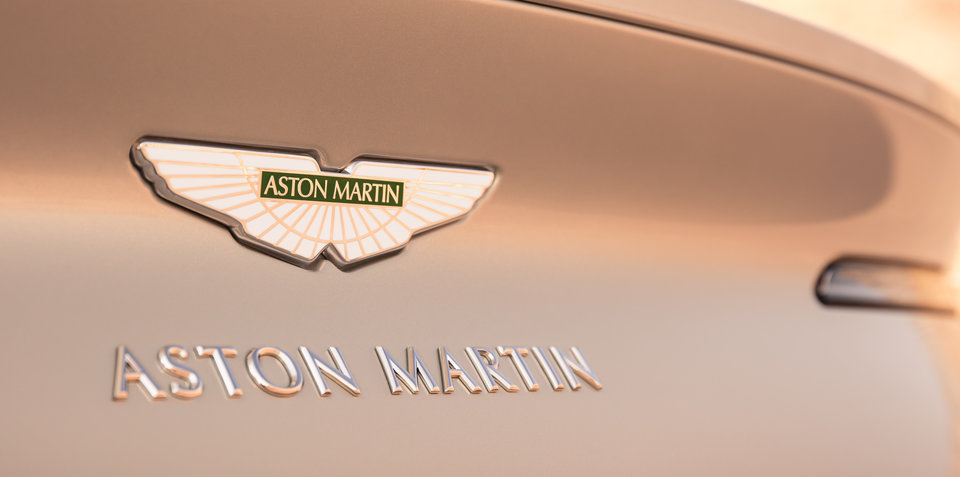 Aston Martin: Entire range to be electrified by 2025