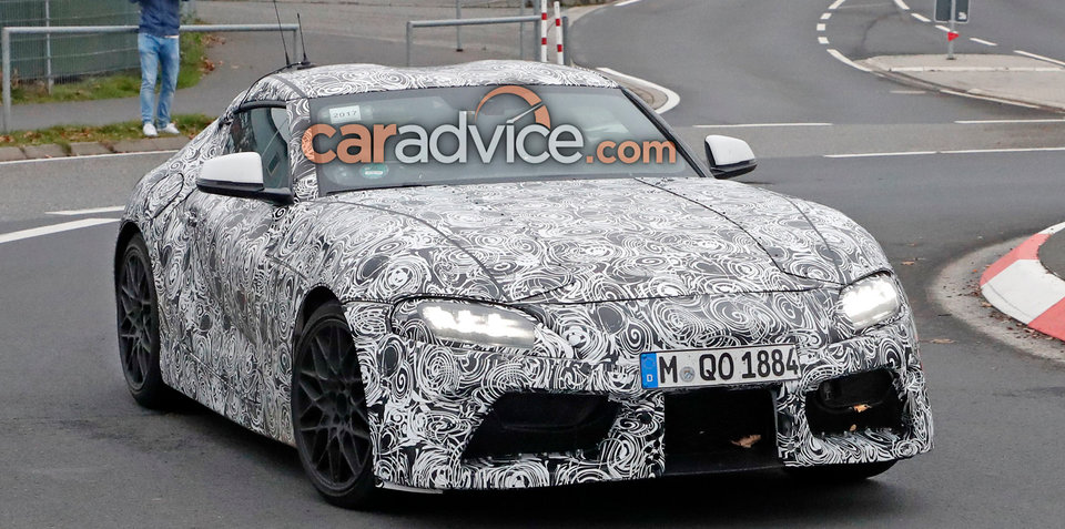 Toyota Supra won't be shown in Detroit - report