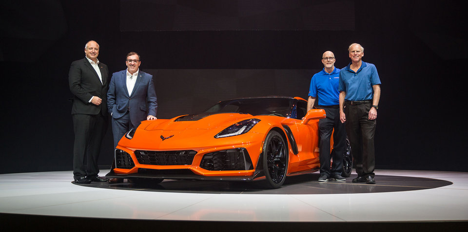 2019 Chevrolet Corvette ZR1 revealed