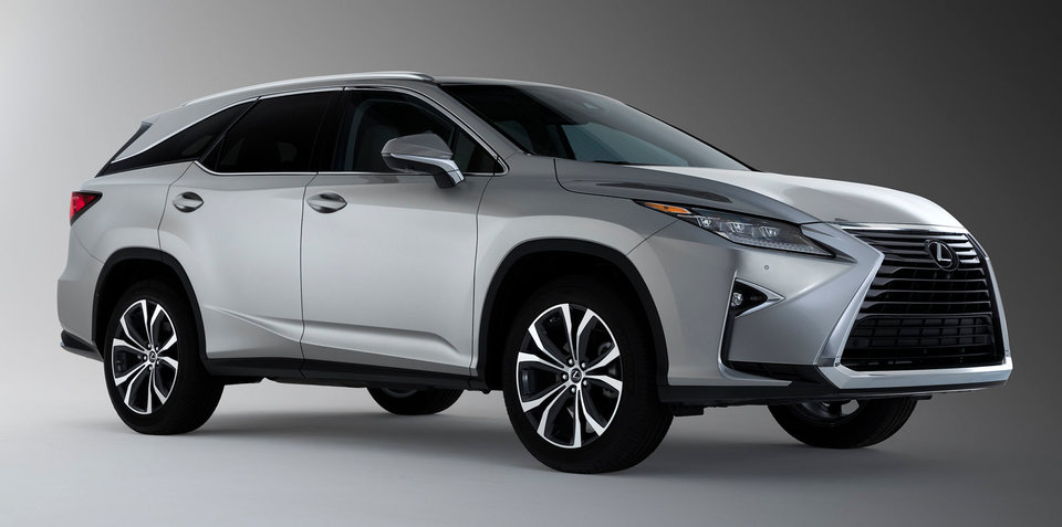 2018 Lexus RX L unveiled, due in Oz from February
