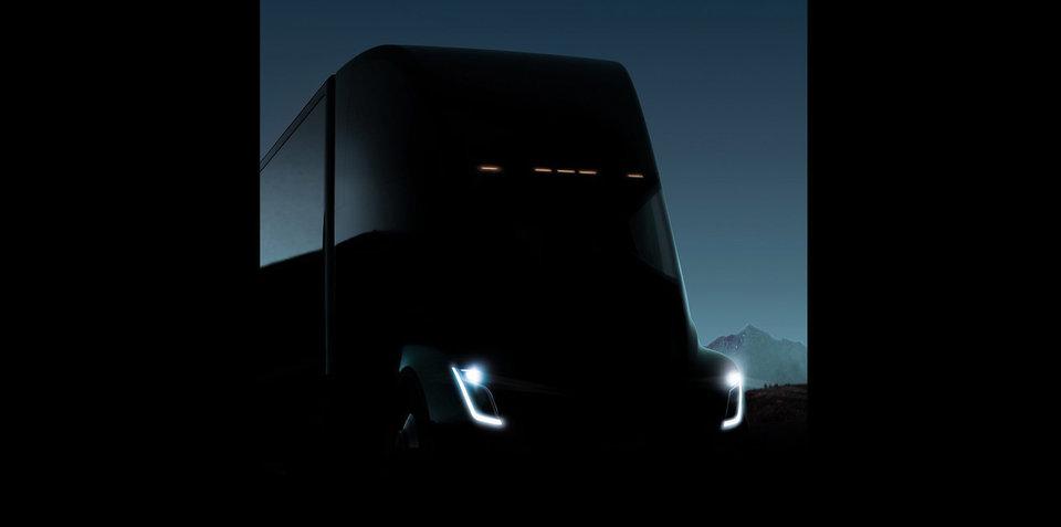 Tesla Semi teased ahead of November 16 reveal