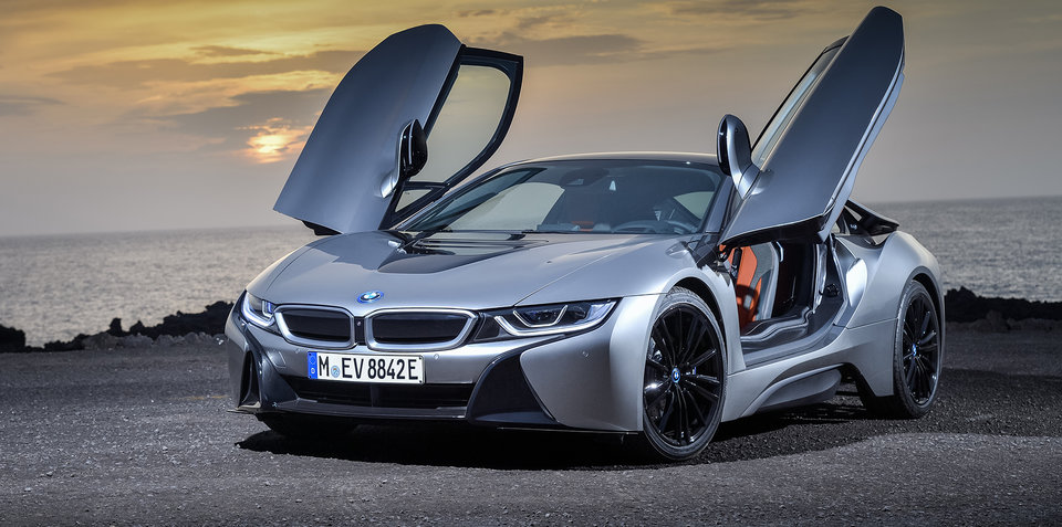 2018 bmw i8 coupe revealed for detroit. Black Bedroom Furniture Sets. Home Design Ideas
