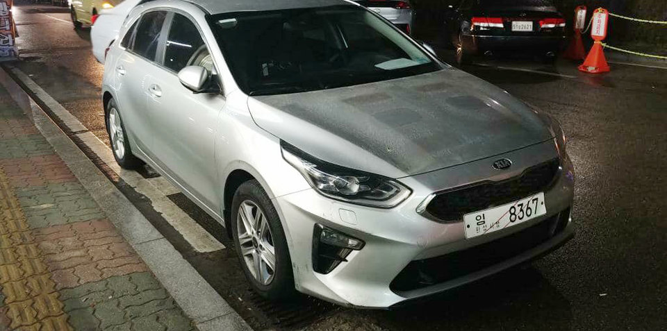 2018 Kia Cerato spied without disguise