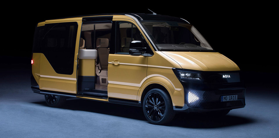 Volkswagen MOIA electric ride-sharing concept unveiled