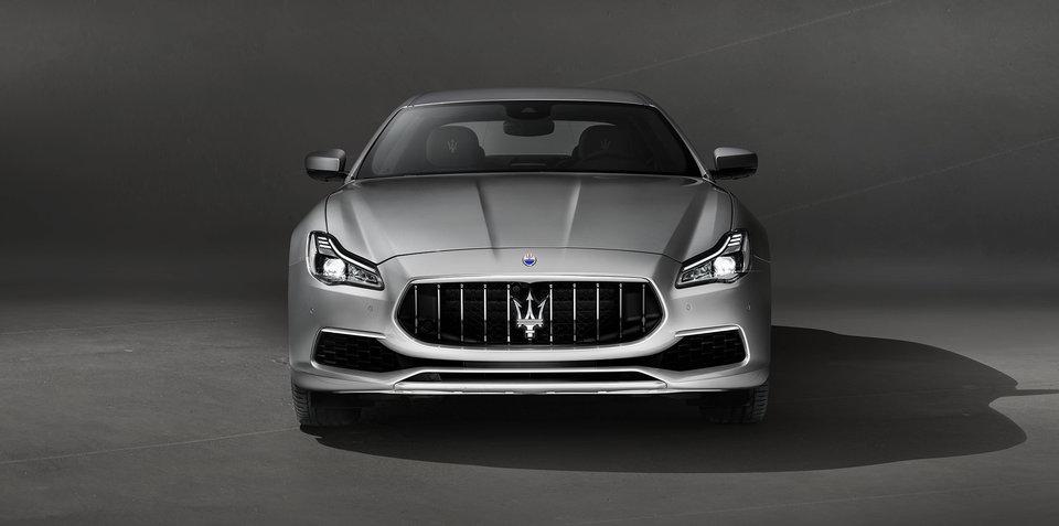 2018 Maserati Quattroporte pricing and specs
