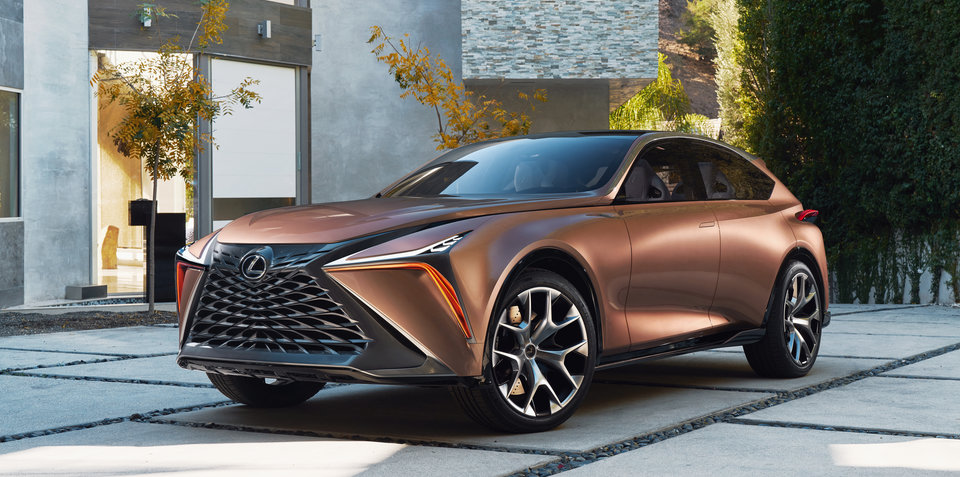 Lexus LF-1 Limitless crossover concept debuts in Detroit