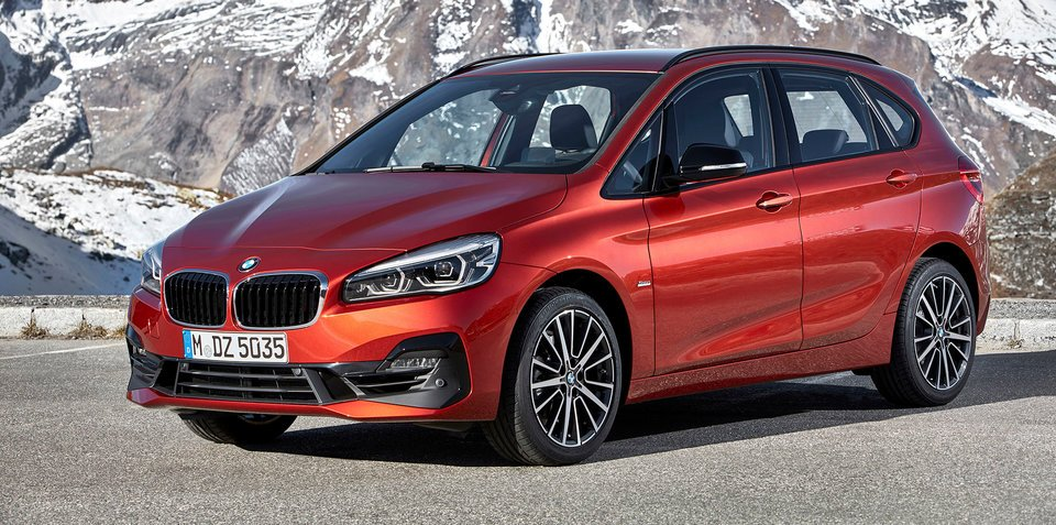 2018 BMW 2 Series Active Tourer facelift unveiled