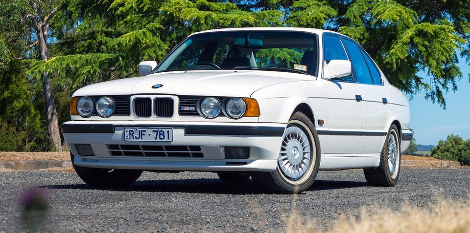 BMW M Joins Australian Arms Heritage Fleet - 1990 bmw m5