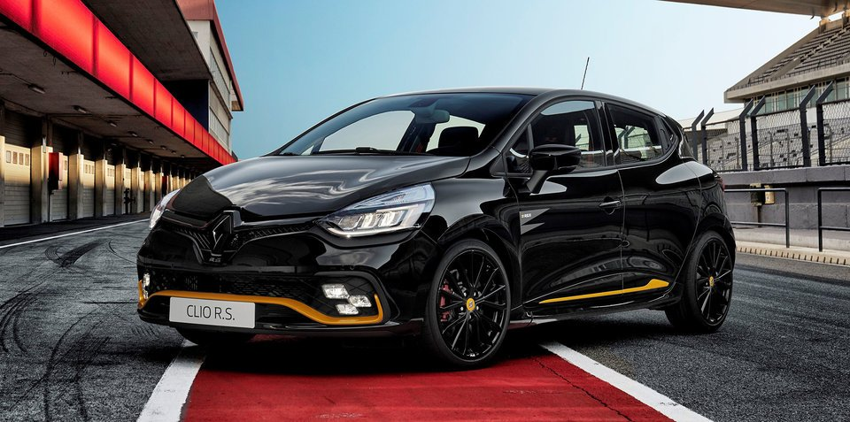 2018 renault clio rs 18 unveiled update. Black Bedroom Furniture Sets. Home Design Ideas