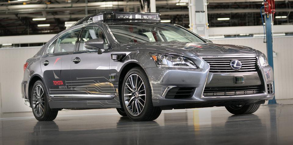 Lexus: Autonomous vehicles 'very dangerous' in cities