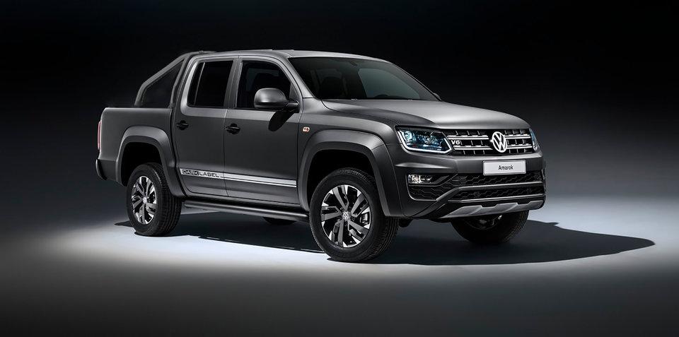 Volkswagen Amarok Dark Label confirmed for Australia