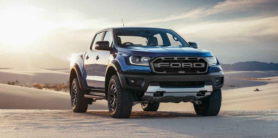 2018 ford ranger raptor revealed. Black Bedroom Furniture Sets. Home Design Ideas