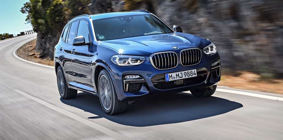 2018 bmw x3 m40i pricing and specs. Black Bedroom Furniture Sets. Home Design Ideas