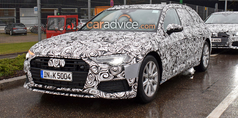 2019 audi a6 avant spied caradvice howldb. Black Bedroom Furniture Sets. Home Design Ideas
