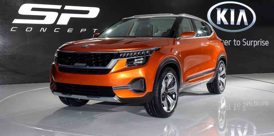 Kia SP concept revealed in Delhi