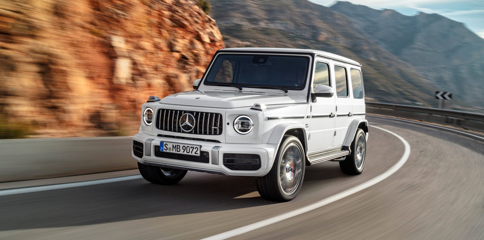 2018 Mercedes-AMG G63 pricing and specs