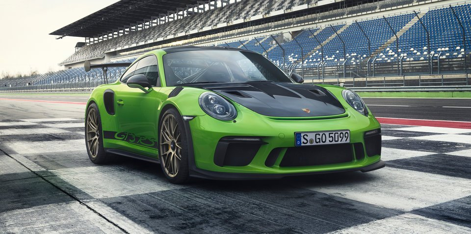 2018 porsche 911 gt3 rs unveiled priced from 416 500. Black Bedroom Furniture Sets. Home Design Ideas