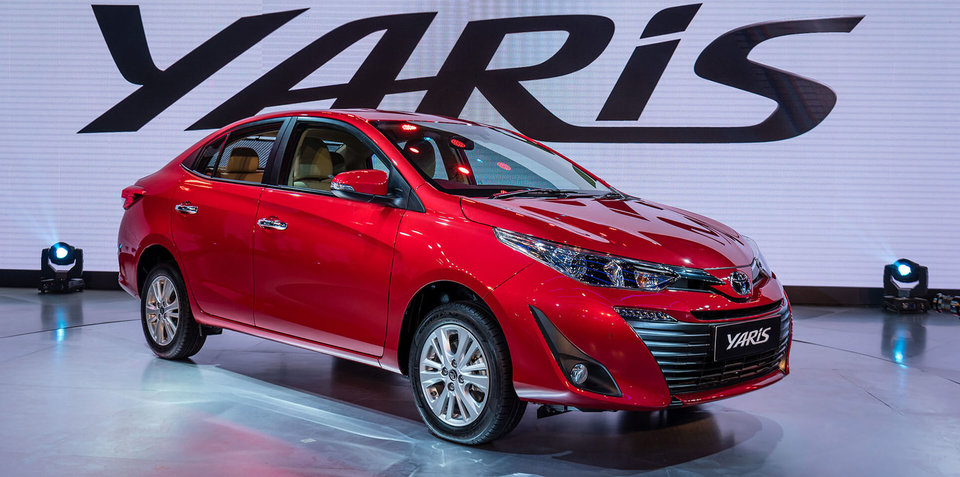 2018 Toyota Yaris sedan unveiled in New Delhi