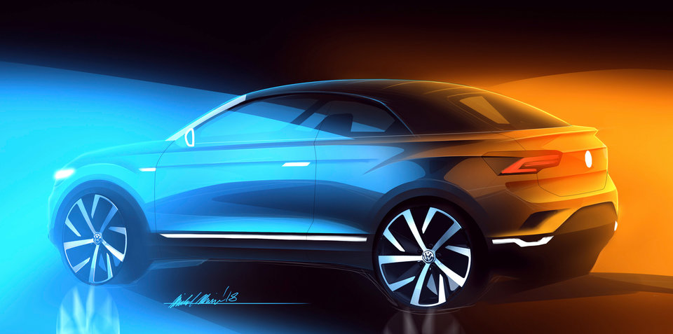 Volkswagen T-Roc convertible coming in 2020
