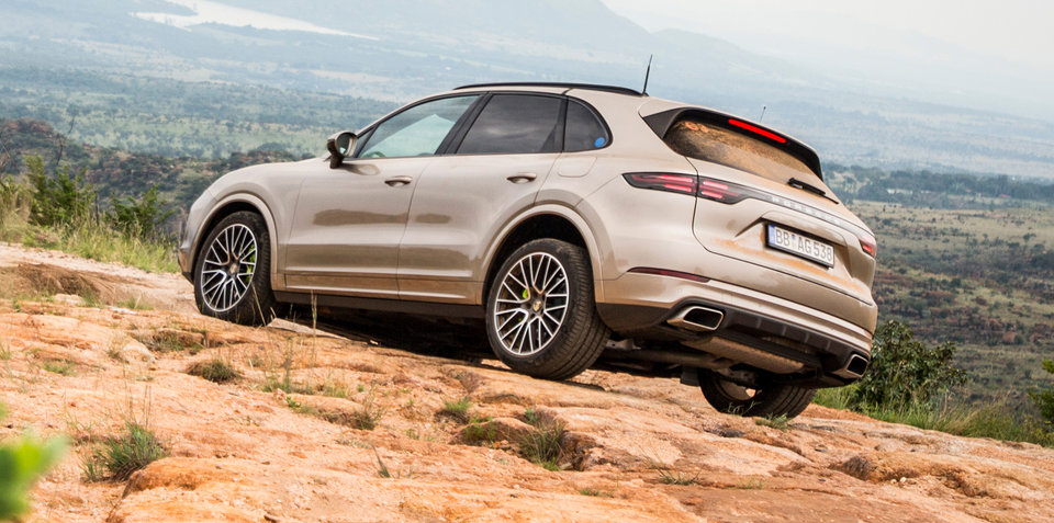 Porsche Cayenne E-Hybrid previewed - Video